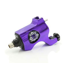 Professional Bishop Tattoo Machine Rotary Tattoo Gun with RCA connection Purple Color For Tattoo Supplies Free Shipping TM-558F