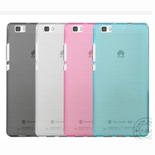 Factory Outlet Soft Case For Huawei P8 Lite P8LITE ALE-CL00 5'' Phone Shell Cover TPU Protector Drop Helper Housing