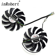 75mm Power Logic PLD08010S12HH 4Pin Cooling Fan For MSI GTX 560 570 R6950 GTX460 GTX 560 Twin Frozr II Graphic Card Cooler Fan(China)