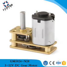 factory outlet GM1024-N20 1.5V 3V 6V 12V Micro DC Gear reducer motor Output shaft and motor same direction robot GM24