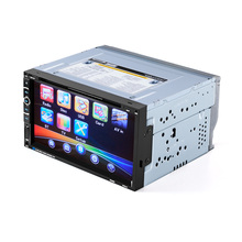 Car DVD Player 2 Din 6.95'' inch Touch Screen Video Player Support FM Radio BT TF Card Rear View Camera with remote conrol(China)