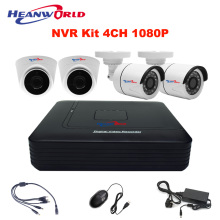 Buy Mini NVR kit 4CH 1080P network IP camera system 2MP indoor outdoor security system camera CCTV cam network video recorder for $189.95 in AliExpress store