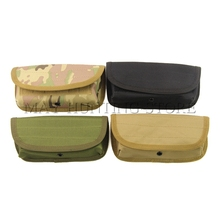 Airsoft 12 Round Shotgun Shell Holder Folding Ammo Bag Hunting Bullet Holder Shell Pouch(China)