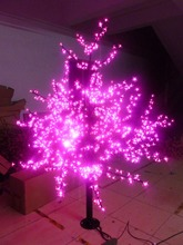 Free ship 6ft/1.8m LED Cherry Blossom Tree Light Outdoor Home Decor 1,024 LEDs Pink Color waterproof Hoiday christmas decor