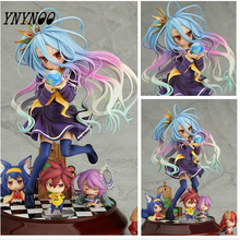 (YNYNOO)Lovely cartoon movie Action Figure Model Furnishing articles anime No Game No Life 2 hand toy doll kids Holiday gift