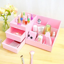 Home orgainzer waterproof plastic box creative make up organizer jewelry box drawer orgainzer