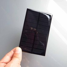 2pcs x 5V 250mA Mini monocrystalline polycrystalline solar Panel small solar cell PV module for DIY solar Kits(China)