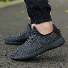 2017 New Men Summer Mesh Shoes Loafers lac-up Water shoes Walking lightweight Comfortable Breathable Men tenis feminino zapatos(China)