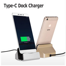 USB 3.1 Type-C Dock Station Charger Cradle For Sony Xperia Xz X Compact /Oneplus 3/Nexus 6P Huawei Honor 8 V8 Dock Charger
