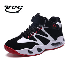 2017 Winter Men Shoes Trainers Basketball Shoes Classic Shoes Retro Comfortable Men Shoes High-Top Outdoor Sneakers High Quality(China)
