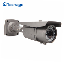 Techage 720P 1080P Outdoor Waterproof AHD Analog Full HD Camera IR Night Vision Security 2.8-12mm Varifocal Lens CCTV Camera DVR