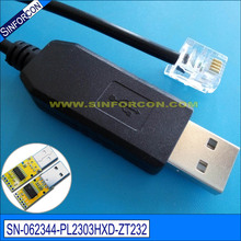 Win 7 8 10 Android mac linux win ce linux pl2303hxd usb rs232 adapter cable with rj11 rj12 rj25 rj45