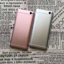 High Quality Metal Battery Door Case for Xiaomi Mi Redmi 3S 3X 4 Note 3 4 Original Replacement Part Back Cover