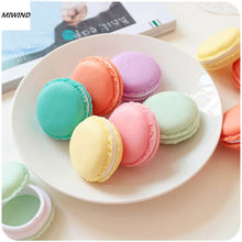 Hot Sell 4 Color Mini Macarons Box For Jewelry Earring Ring Outing Storage Boxes