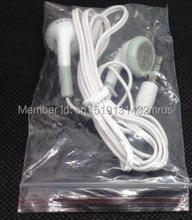 wholesale 1000pcs/lot Cheapest disposable earphone for bus or train or plane for school one time use as gift