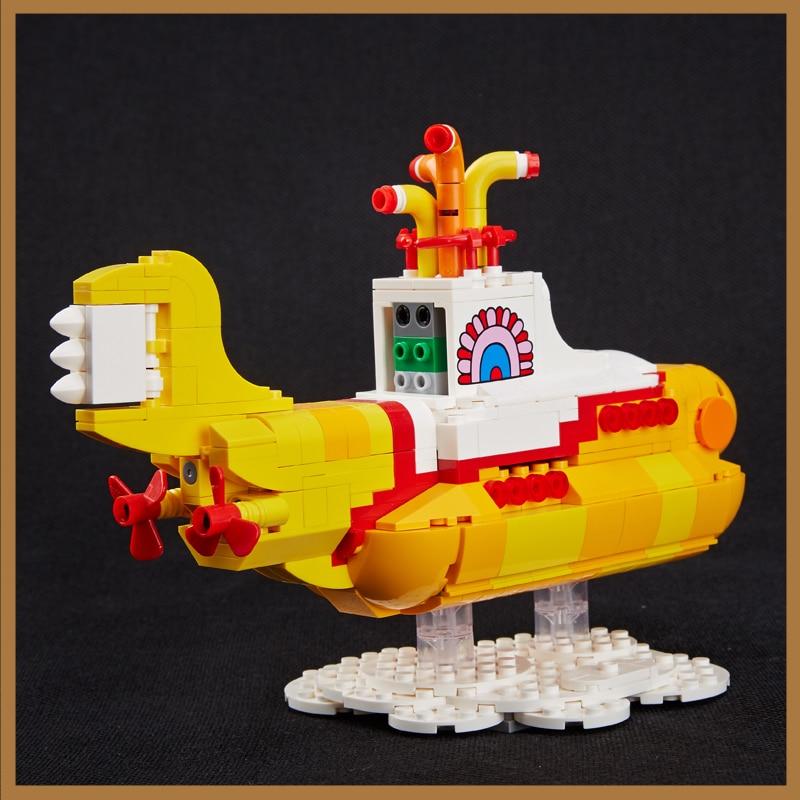 Lepin 21012 New 533Pcs Movie Series The beautiful submarine Set 21306 Building Blocks Bricks Toys Model For Kids Birthday Gifts<br>