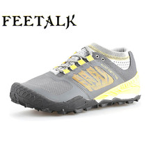 Spring summer men Walking Shoes Cowhide Outdoor Sneakers Waterproof Breathable Sports Shoes Brand Athletic Walking Shoes711658(China)