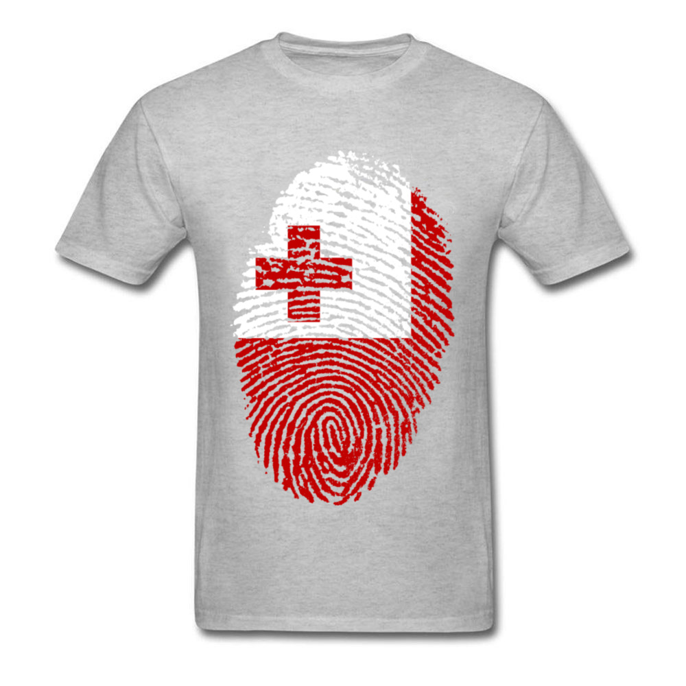 Tonga Flag Fingerprint_grey