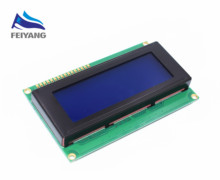 5PCS SAMIORE ROBOT Smart Electronics LCD Module Display Monitor LCD2004 2004 20*4 20X4 5V Character Blue Backlight Screen(China)