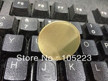 Sample Test Quality Blank coin , wholesale 100 pcs brass blank size 28.4mm thickness 2.5mm weight 12g brss blank coin coins(China)