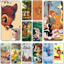 Sika deer Bambi Hard Case Cover for Huawei P10 P9 Lite Plus P8 Lite G7 & Honor 8 Lite 7 4C 4X
