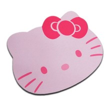 Hello Kitty Cute Laptop Computer Mouse Pad Mat Pink/Black Color Wholesale Price(China)