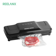 REELANX Vacuum Sealer V1S Upgraded 180W Automatic Food Packing Machine with 15pcs bags Best for Household Fresh Keep Black Color(China)