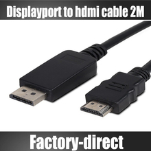 15ft 5M Displayport to HDMI cable HDTV audio&video cable cord Dp to HDMi male to male for Dell for HP devices