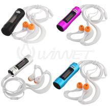 Waterproof 4G MP3 Player Music Player Underwater OLED Screen Water Sports FM Radio