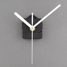 New Quartz Useful Clock Movement Mechanism Parts Repairing DIY Essential Tools With White Hands Silence(China)