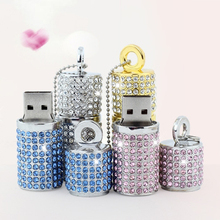 High Speed Usb Flash Drive 512GB Jewelry Pendrive 3.0 Cristal Necklace 16GB 32GB Usb Stick Exquisite Girl Gift Pen Drive 64GB