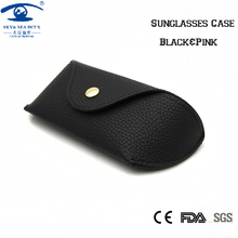 SKY&SEA OPTICAL Case&Bag Pink  Black Mens Womens Sunglasses Box Leather Spectacles Case Eyeglass Case Men Women