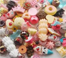 16 kinds of style Flat back Resin Dessert Cabochons Resin Food/fruit/Christmas/animals Mobile phone DIY Accessory by 500pcs/lot