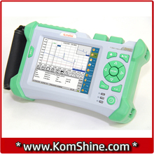 KOMSHINE QX50-S1310/1550nm 32/30dB Visual Fault Location Function Optical Fiber OTDR communication Fiber Testing equipment(China)