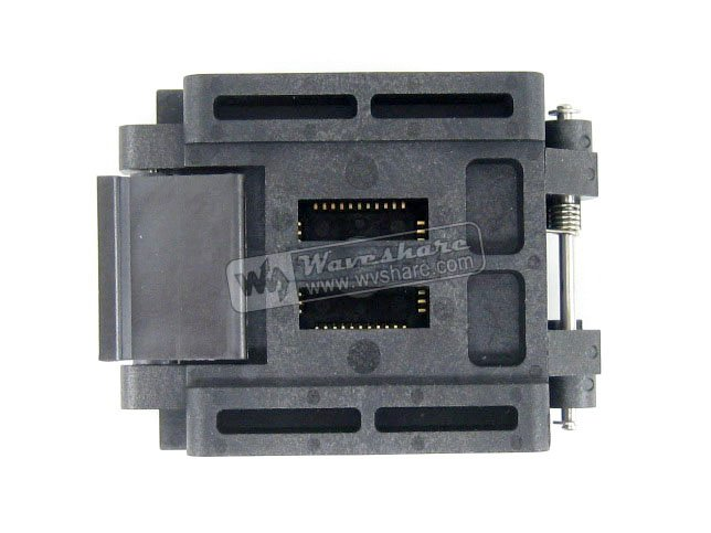 Modules Original brand new Enplas QFP44 FPQ-44-0.8-19 Enplas IC Test Burn-in Socket block Adapter 0.8mm Pitch TQFP44 FQFP44 PQFP(China)