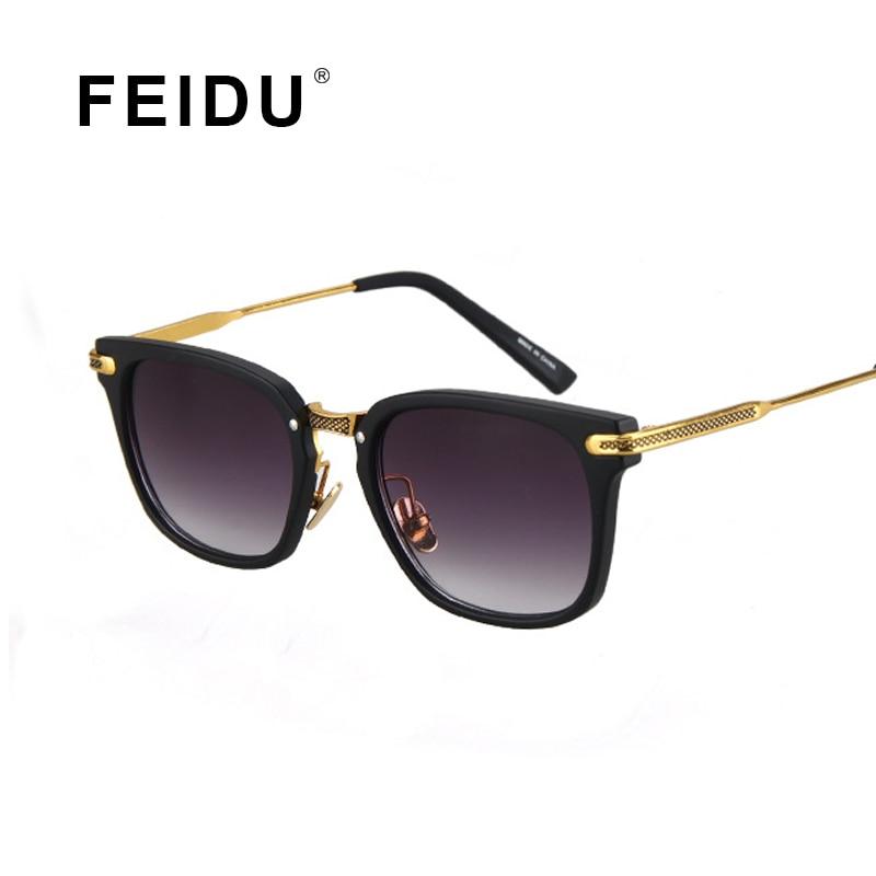 FEIDU 2016 New Men Square Fashion High quality Sunglasses Women Brand designer Outdoor Driving Glasses Oculos de sol UV400<br><br>Aliexpress