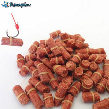 Rompin diameter 3.5mm 60~70Pcs/bag Red Smell Grass Carp Baits Coarse Fishing Baits Fishing Lures