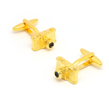 Beour Camera Cufflinks For Mens Fashion Novelty Gold Cufflink Shirt Bussiness Wedding Gifts(China)