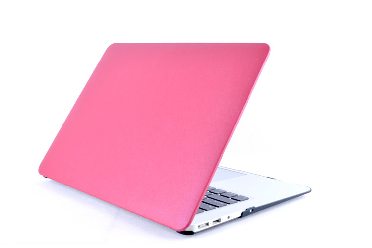 pu Leather Pc Rubberized Hard Case Laptop Cover For Apple Macbook Air Pro Retina 11 12 13 15 Inch<br><br>Aliexpress