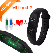 Xiaomi Smart Wristband Xiaomi Mi Band 2 Bracelet Band2 IP67 OLED Screen Touchpad Pulse Heart Rate Monitor Step Time Original Mi