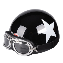 2017 The global hot sales Motorcycle Helmet Moto Motocicleta Capacete Casco Casque Cruiser Half Helmets With Free Goggles
