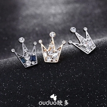 Broche Plated Lovers' Classic 2017 New Arrival High-grade Crystal Crown Flowers Suit Shirt Pin Bow Ties Men's Brooches Jewelry