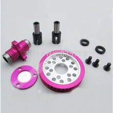 Aluminum Front One Way Tube Differential for 3Racing 1/10 Sakura D3 CS Drift Car(China)