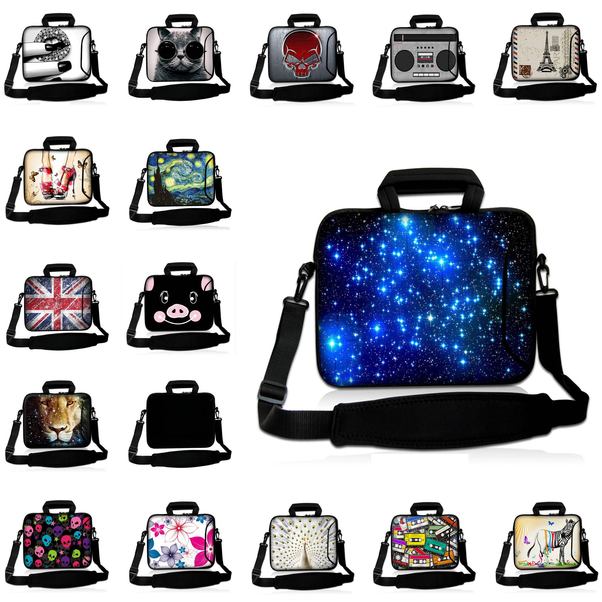 2017 New Arrival Laptop Pouch Cover 15.6 15.3 15.4 15 inch Shoulder Strap Messenger Tablet Notebook Bags For Lenovo Acer HP Envy<br><br>Aliexpress