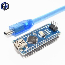 TENSTAR ROBOT Nano 3.0 controller compatible with arduino nano CH340 USB driver with CABLE NANO V3.0