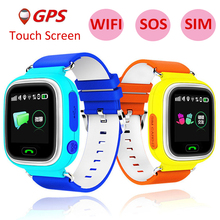 Child GPS Smart Watch Q90 With Wifi Touch Screen Children Smartwatch SOS Call Location For Kid Safe Anti-Lost Monitor PK Q50 Q80(China)