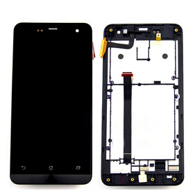 Lcd display Screen+Touch Glass Digitizer +Frame Assembly for Asus Zenfone 5 A500CG A501CG replacement free shipping<br><br>Aliexpress