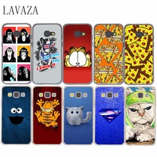 funny cat in space Hard Case Cover for Samsung Galaxy A3 A5 A7 A8 J5 J7 Grand 2 J3 J5 Prime Note 2 3 4 5 2017 2016 2015