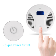 LCD Intelligent Electronic Ultrasonic Pest Repeller Electromagnetic Wave Mouse Repeller Rat Pests Repelling with UV Light(China)