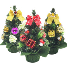 New Mini Small Tiny Artificial Christmas Tree Home Holiday Indoor Decoration Xmas Ornament Supplies 20cm